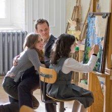 Vera Farmiga, Peter Sarsgaard e Isabelle Fuhrman in una scena dell'horror Orphan