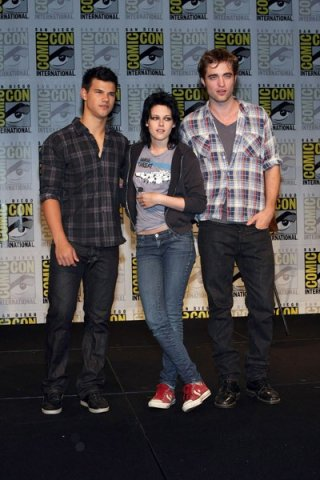 Comic-Con di San Diego 2009 - Kristen Stewart, Robert Pattinson e Taylor Lautner presentano Twilight Saga: New Moon