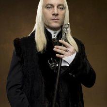 Jason Isaacs in una foto promozionale del film Harry Potter e l'Ordine della Fenice