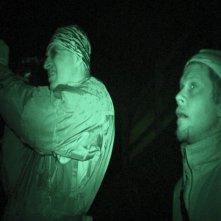 Louie Psihoyos e Simon Hutchins in un'immagine del documentario The Cove