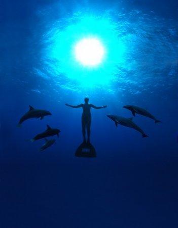 Una suggestiva immagine del documentario The Cove