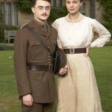 Daniel Radcliffe è Jack e Carey Mulligan è Elsie nel film My Boy Jack