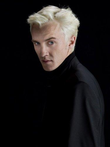 Tom Felton è Draco Malfoy in una foto promo per il film 'Harry Potter e il principe mezzosangue'