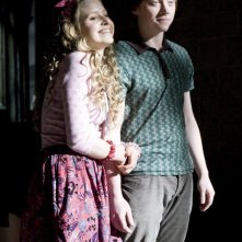 Jessie Cave (Lavanda Brown) e Rupert Grint (Ron Weasley) in una scena del film Harry Potter and the Half-Blood Prince
