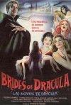 Locandina spagnola del film Le spose di Dracula