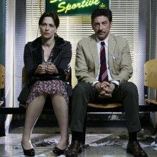 Martina Gedeck e Sergio Castellitto in un'immagine del film Tris di donne e abiti nuziali