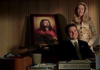 Michael McMillian e Anna Camp in un'immagine dell'episodio 'Hard-Harted Hannah' della serie tv True Blood