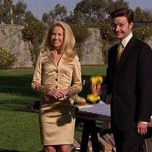 Michael McMillian e Anna Camp in una scena dell'episodio 'Hard-Harted Hannah' della serie tv True Blood