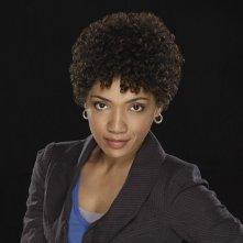 Jasika Nicole in una foto promozionale della stagione 2 di Fringe