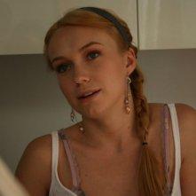 Elena Bouryka in una scena del film Piede di Dio