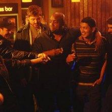 Florentine Lahme, Ty Olsson, Dylan Taylor, Malik Yoba, Zahf Paroo ed Eyal Podell in una scena dell'episodio Threshold di Defying Gravity