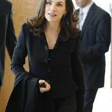 Julianna Margulies è Alicia Florrick nella serie The Good Wife