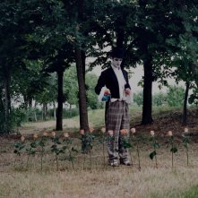 Una prima immagine del set di Agape. Nella foto, l'attore Paolo Stella