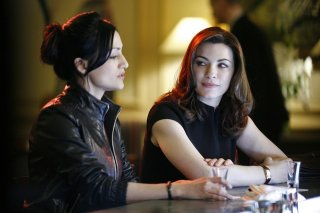 Una scena della serie The Good Wife