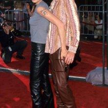 Angelina Jolie e Billy Bob Thornton alla premiere del film Fuori in 60 Secondi