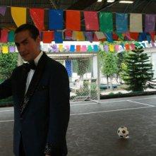 Antonio Stornaiolo in una scena del film Piede di Dio