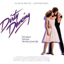 Un wallpaper ufficiale del film Dirty Dancing