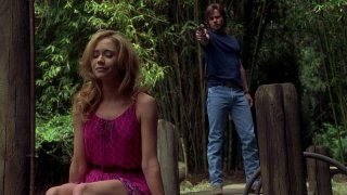 Ashley Jones e Sam Trammell in un'immagine dell'episodio 'Release Me' della serie tv True Blood
