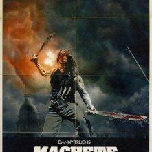 La locandina di Machete