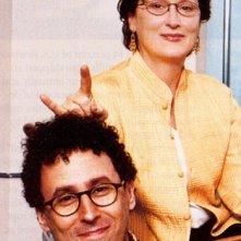 Meryl Streep e il regista Mike Nichols