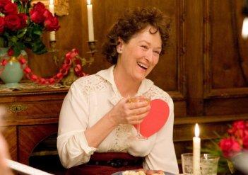 Meryl Streep in una scena di Julie & Julia