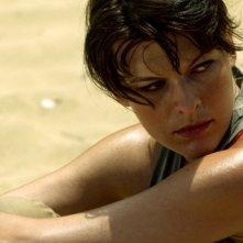 Milla Jovovich in una scena del film A Perfect Getaway