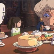 Una scena del film La città incantata - Spirited Away
