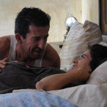 Maya Sansa e Claudio Casadio in un'immagine del film L'uomo che verrà