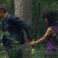 Una scena del film Au voleur