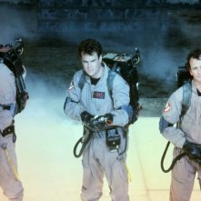 Bill Murray, Dan Aykroyd ed Harold Ramis in Ghostbusters - Acchiappafantasmi