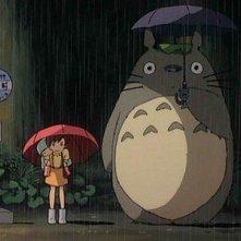 Un'immagine del film d'animazione Il mio vicino Totoro di Hayao Miyazaki