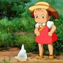 Un'immagine del film Il mio vicino Totoro