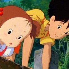 Un'immagine del film Il mio vicino Totoro di Hayao Miyazaki