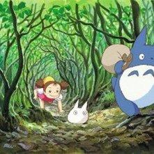 Un'immagine tratta dal film Il mio vicino Totoro