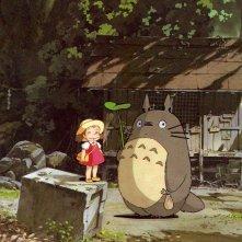 Un wallpaper del film Il mio vicino Totoro