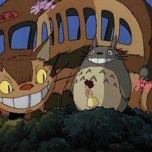 Una scena del film Il mio vicino Totoro