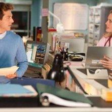 David Julian Hirsh e Christina Moore in una scena dell'episodio Night Moves di Hawthorne