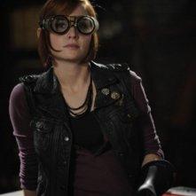 Allison Scagliotti in una scena dell'episodio Elements di Warehouse 13
