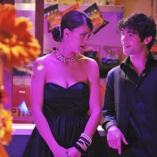 Lindsey Shaw ed Ethan Peck in una scena dell'episodio Dance Little Sister di  10 Things I Hate About You