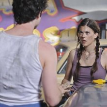 Lindsey Shaw in una scena dell'episodio Don't Give Up di 10 Things I Hate About You