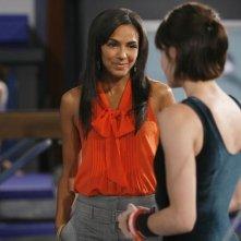 Marsha Thomason in una scena dell'episodio Run, Emily, Run di Make it or Break it