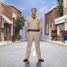 Colin Ferguson in una immagine promozionale della stagione 3 della serie televisiva Eureka