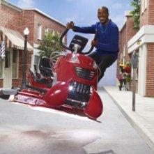 Joe Morton in una foto promozionale della stagione 3 della serie televisiva Eureka