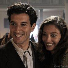Francesco Scianna e Margareth Madè in una scena del film Baaria