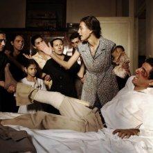 Margareth Madè e Francesco Scianna in una scena del film Baaria
