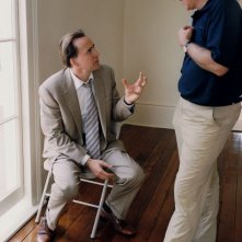 Nicolas Cage e il regista Werner Herzog sul set del film Bad Lieutenant: Port of Call New Orleans