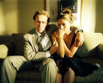 Nicolas Cage ed Eva Mendes in un'immagine del film Bad Lieutenant: Port of Call New Orleans di Werner Herzog
