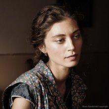 Un intenso primo piano di Margareth Madè, protagonista del film Baaria di Giuseppe Tornatore