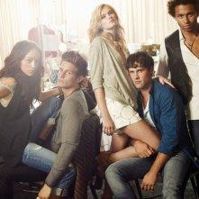 Il cast di The Beautiful Life in una foto promozionale della serie