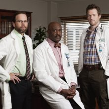 James LeGros, Delroy Lindo e James Tupper in una foto promozionale della serie NBC Mercy